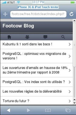 footcow sur iphone